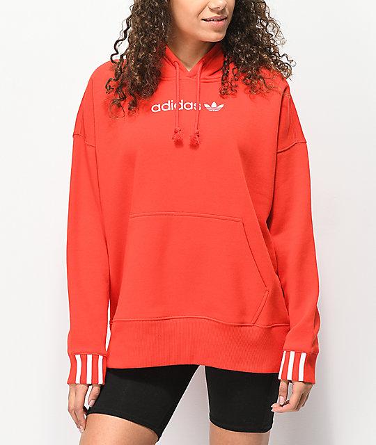 Sudaderas con y sin capucha roja ADIDAS para De mujer | eBay