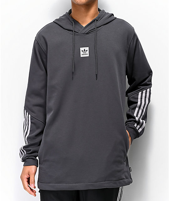 adidas Cornered Grey Reflective Hoodie