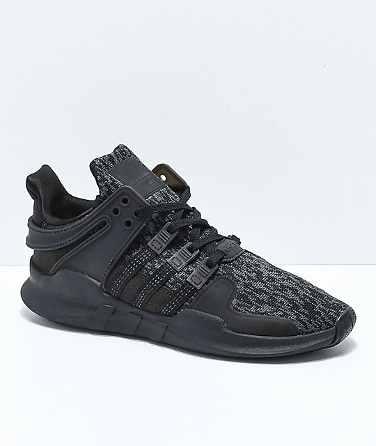 340bd37dcae4c9 adidas EQT Support ADV Black Shoes