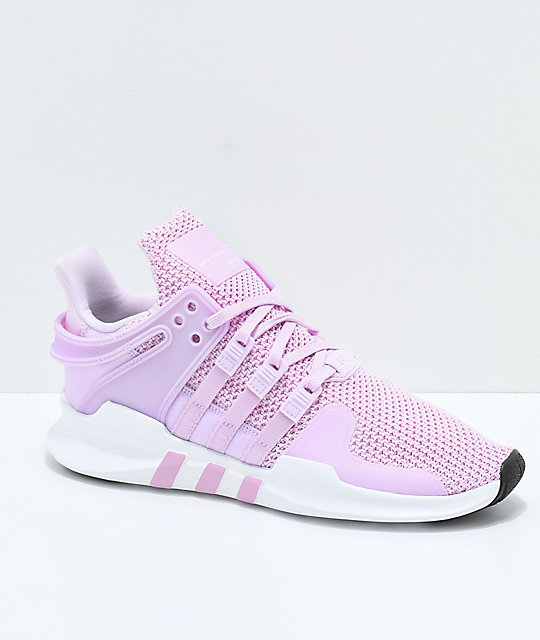 adidas EQT Support ADV Pink & White Shoes ...
