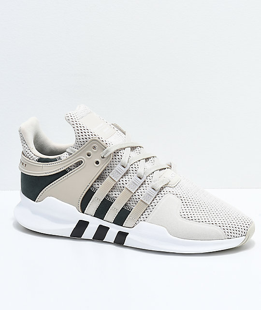 super popular 53bc7 eee5e adidas EQT Support ADV Tan  White Shoes  Zumiez