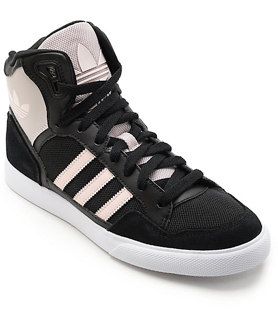 newest b1325 a0973 adidas Extaball Black   Ice Women s Shoes   Zumiez