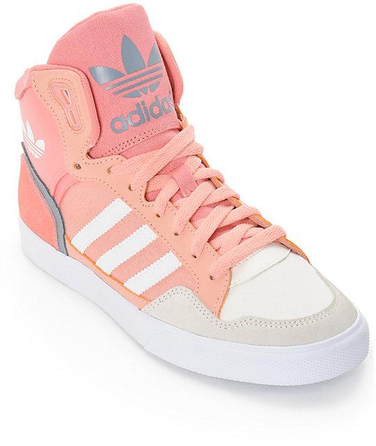 outlet store e2557 7dedb adidas Extaball Dust Pink Shoes  Zumiez