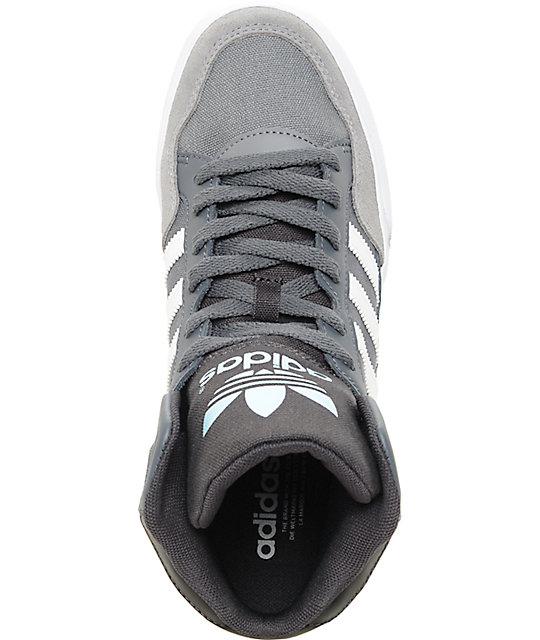 separation shoes 5165b 97632 ... adidas Extaball zapatos en ónix, blanco y azul para mujeres ...