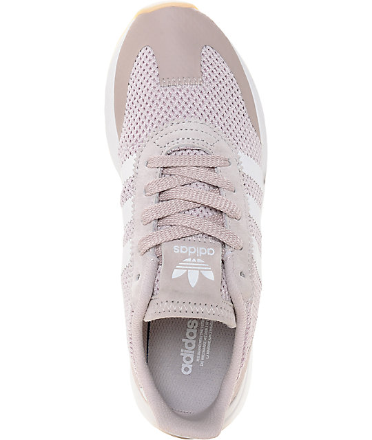 235edfcfcf86 ... adidas Flashback Ice Purple   Pink Women s Shoes ...