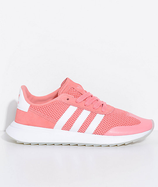 adidas Flashback Tactile Rose & White Shoes