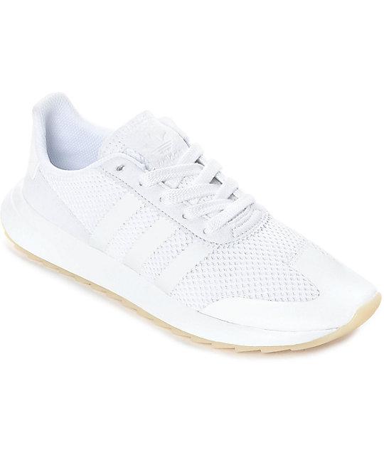 bb5abcbaf Adidas Zumiez Mujeres Blancos Flashback Zapatos Para aCawRSq