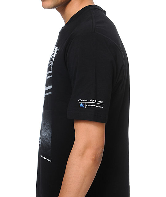 adidas GB Gonz Paris Black T-Shirt