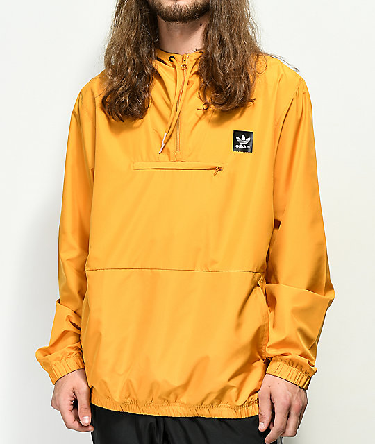 zapatos para baratas volumen grande descuento mejor valorado adidas Hip chaqueta anorak amarilla