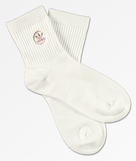 Adidas Originals Trefoil Ankle Socks (White)(1 PAIR ONLY)