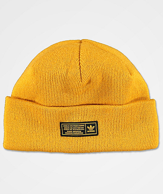 4f1abfe4e adidas Joe Yellow Beanie