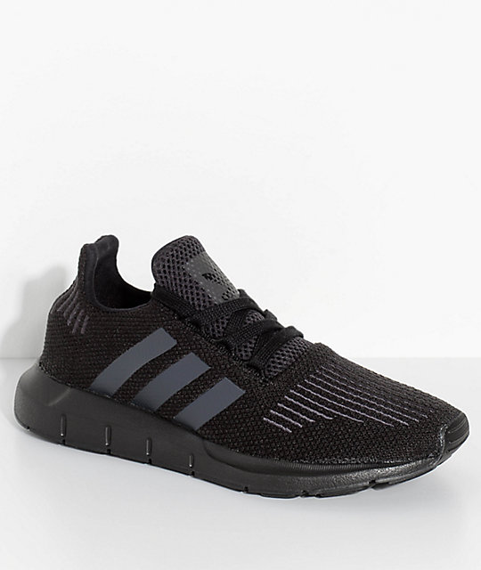 71b6948d946 adidas Kids Swift Run Core   Utility Black Shoes