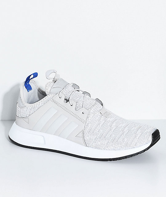 adidas Kids Xplorer Grey, Blue & White Shoes
