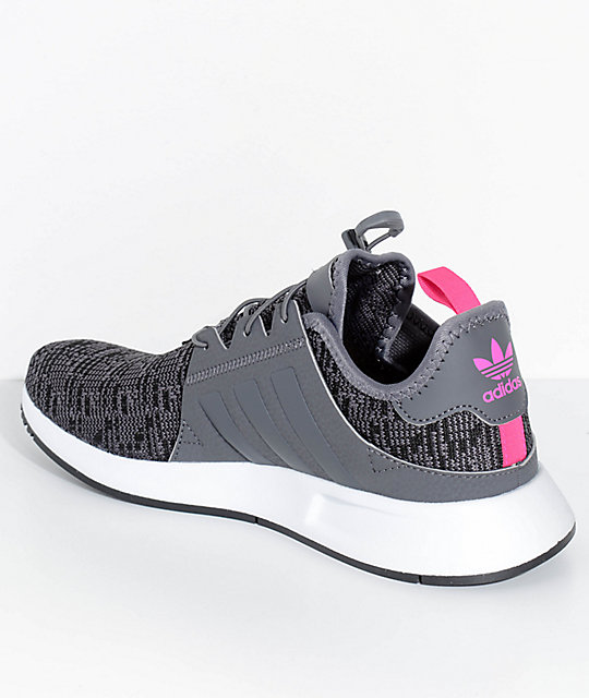 adidas Kids Xplorer Grey & White Shoes