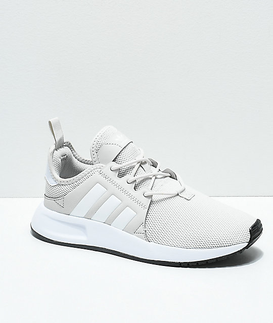 adidas-xplorer-light-grey-&-white-shoes by adidas