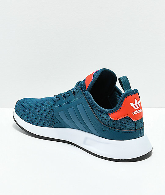 adidas Kids Xplorer Petnit, Orange & White Shoes