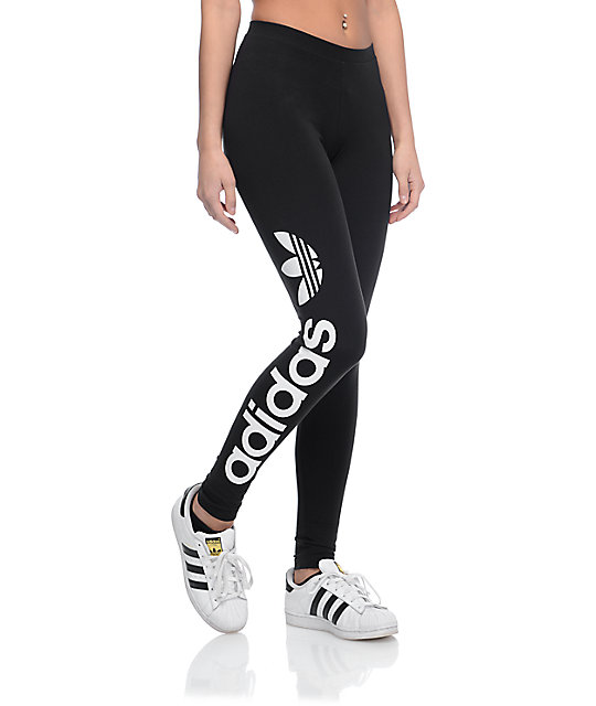 adidas Linear Logo leggings negros