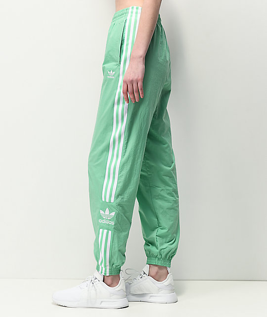 adidas pants green