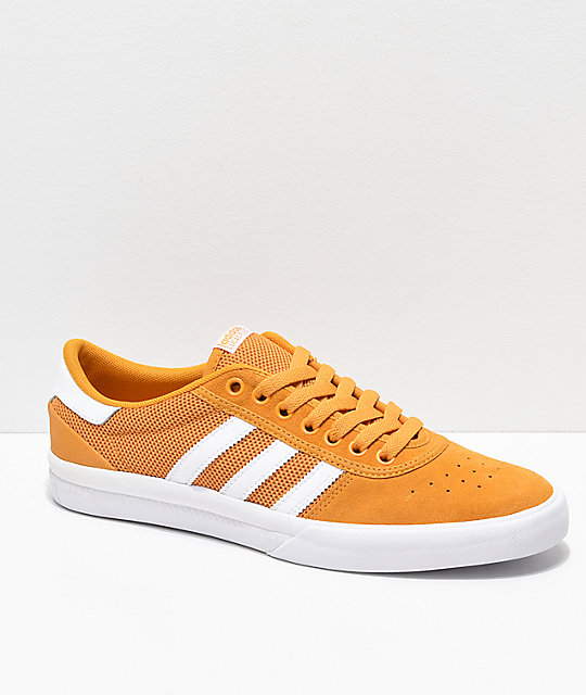 new arrival 9d4a3 dff33 adidas Lucas Premiere ADV Tactile Yellow  White Shoes  Zumie