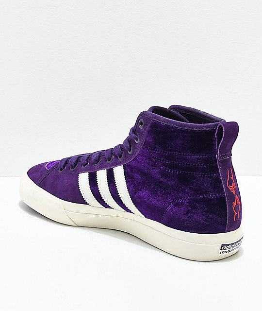 669a7368652e ... adidas Matchcourt Hi RX Na-Kel Purple Shoes ...