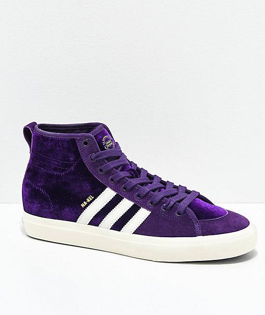 adidas Matchcourt Hi RX Na-Kel Purple Shoes  02ec65597
