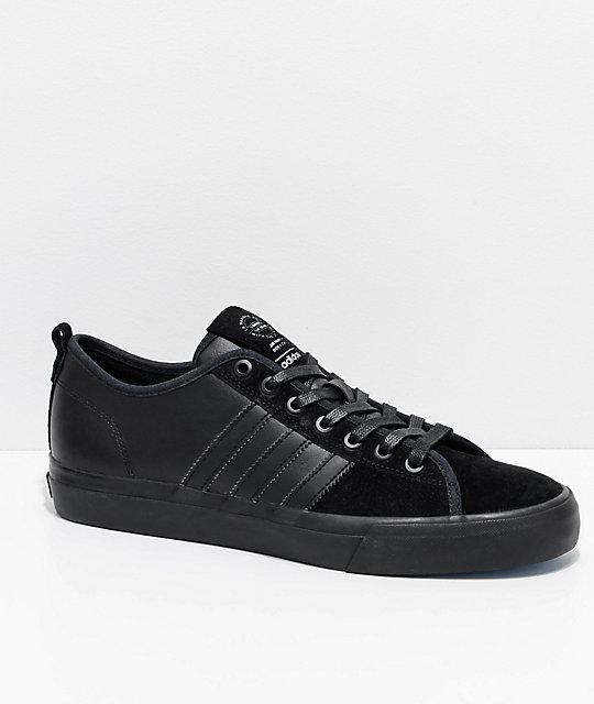 half off d9f99 4c307 adidas Matchcourt RX MJ Black Shoes   Zumiez