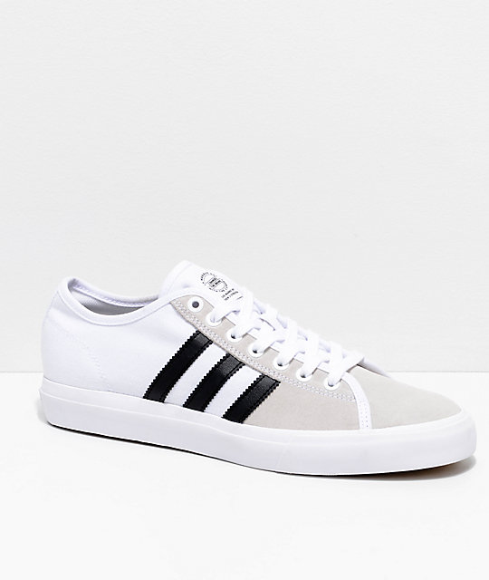 detailed pictures fe33f c25af adidas Matchcourt RX White   Black Shoes   Zumiez