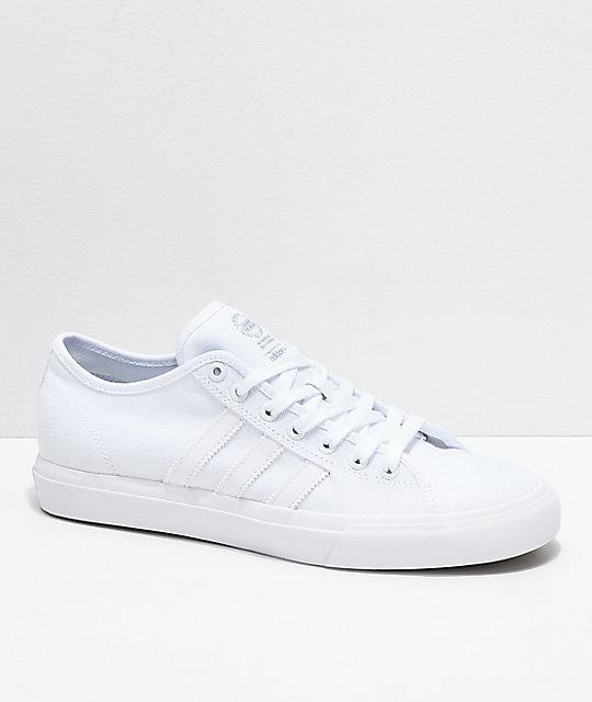 adidas Matchcourt RX zapatos de lienzo blanco