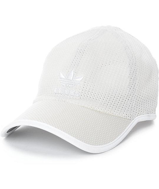 c0e90fc2a57ef adidas Men s Primeknit Khaki Strapback Hat
