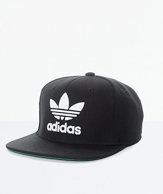 1c4503303 adidas Men's Trefoil Chain Black & White Snapback Hat