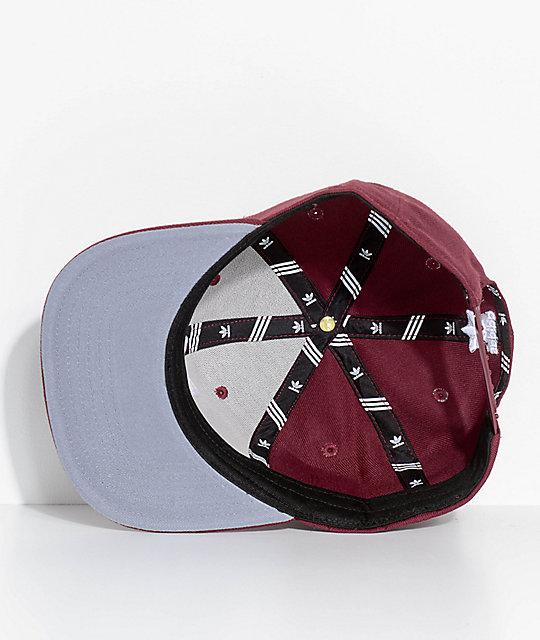 fee964367b7c3 ... adidas Men s Trefoil Chain Maroon Snapback Hat