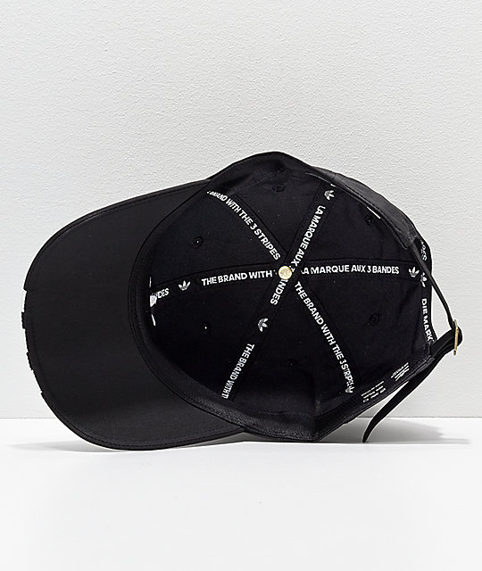 056f652d92c413 ... best price adidas mens relaxed black white striped strapback hat 1f723  177e1 ...