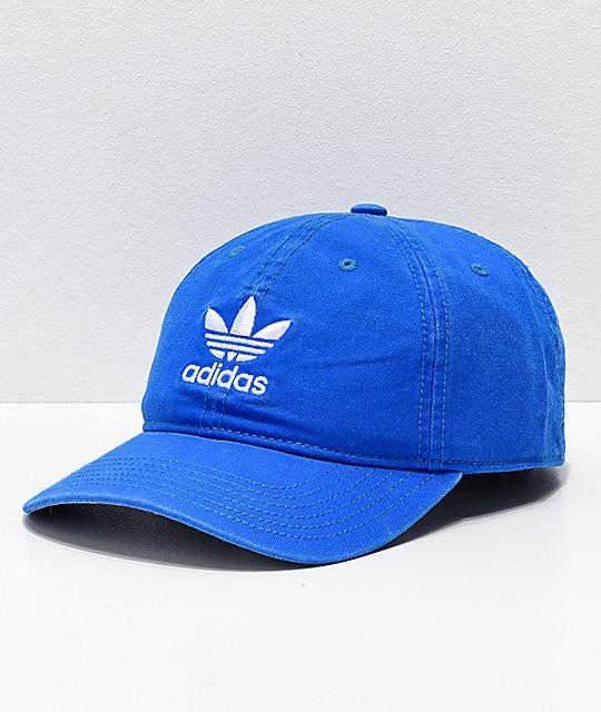 e433d2c42 adidas Mens Trefoil Bluebird Strapback Hat