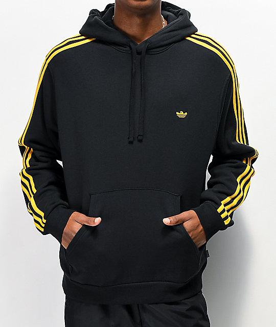 sweater, adidas, black, adidas black hoodie, adidas black