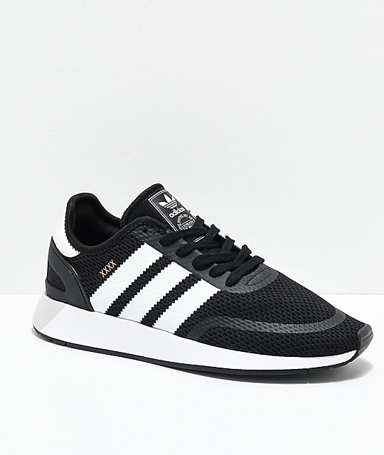 08778951023be adidas-N-5923-Black,-White-&-Grey-Shoes-_293208-front-US.jpg