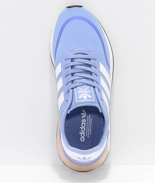 reputable site 7cb97 956e5 ... adidas N-5923 CLS Chalk Blue  White Shoes ...