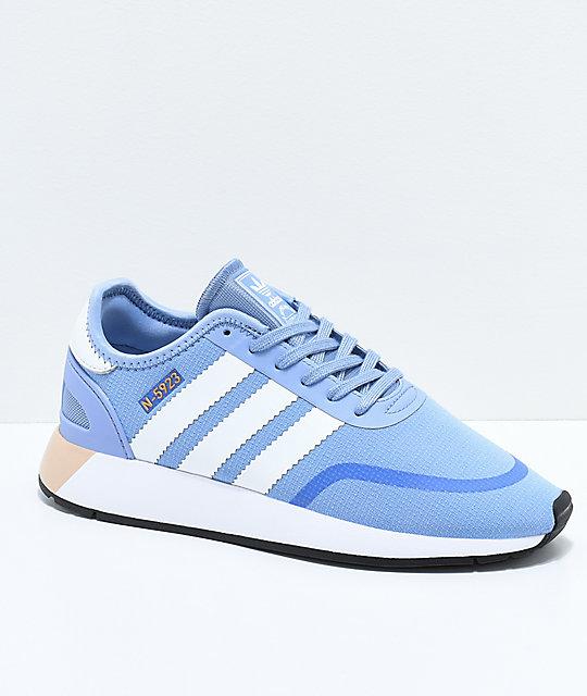 san francisco 4356c cace4 adidas N-5923 CLS Chalk Blue  White Shoes  Zumiez