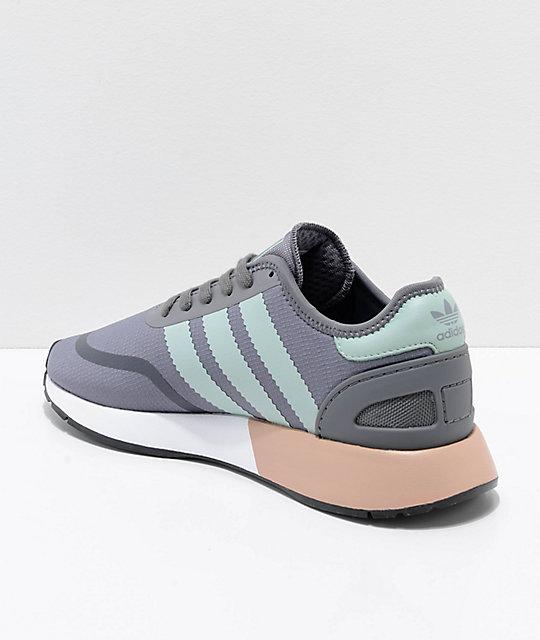 Shoes Grey N Cls Adidas Flouramp; White 5923 PXZN8n0wOk