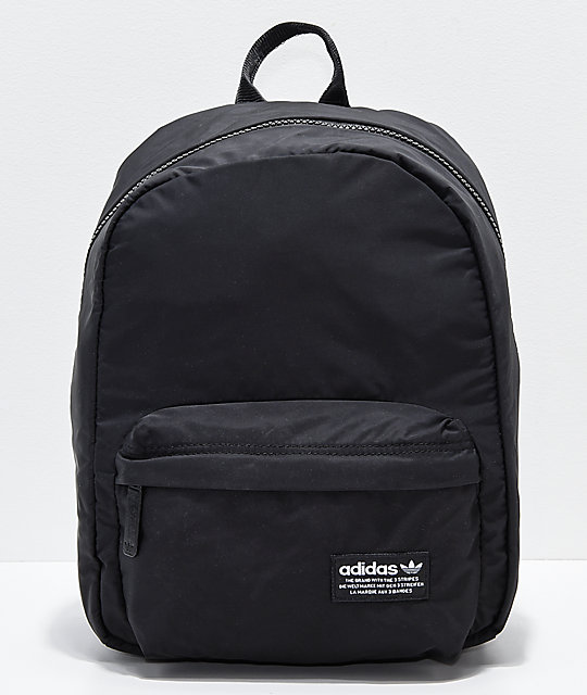 adidas National Compact Black Mini Backpack | Zumiez