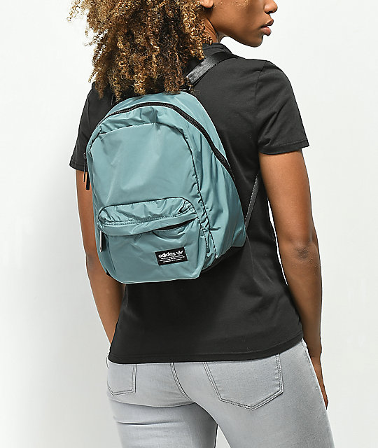 competitive price 9f4fb 738e4 ... adidas National Compact Green Mini Backpack ...