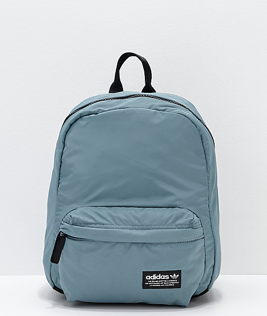 adidas National Compact Green Mini Backpack