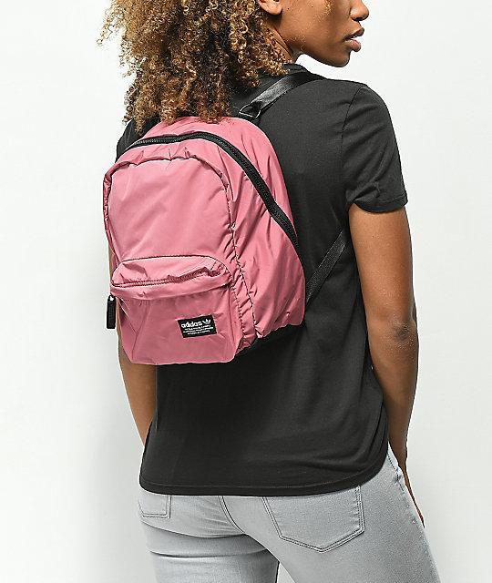 official photos 4da32 18222 ... adidas National Compact Pink Mini Backpack ...