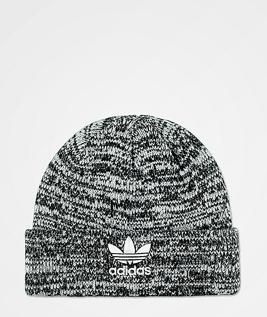 8ee72be55d9 adidas Original Trefoil Black   White Beanie