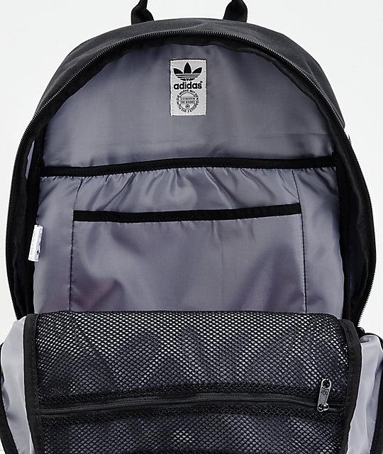 6bb6cc52207f ... adidas Originals Big Logo Black Backpack