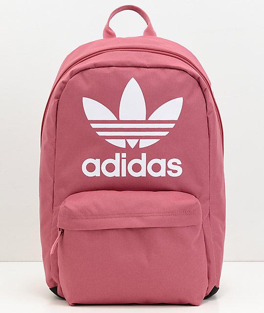 71ebdd7b5256 adidas Originals Big Logo Dark Pink Backpack