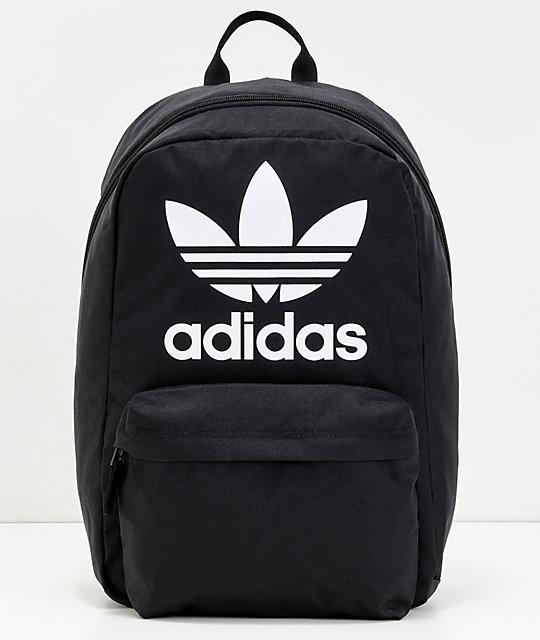 mochila adidas originals negra