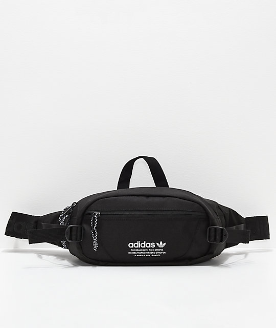 806fde343b adidas Originals Black & White Crossbody Bag | Zumiez