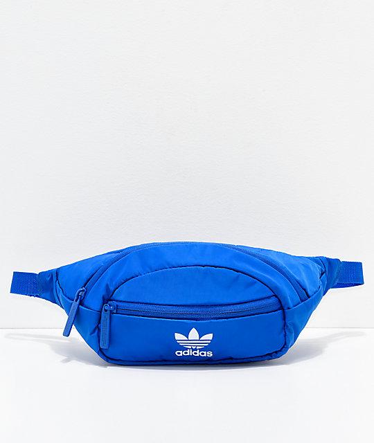 adidas Originals Blue   White Fanny Pack  c9b4954fd8f6d