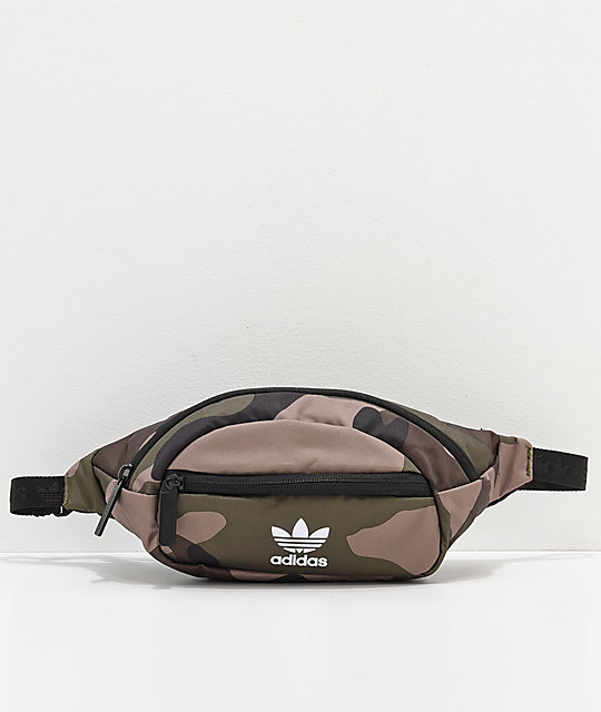 authentic quality really cheap uk availability adidas Originals Camo Fanny Pack