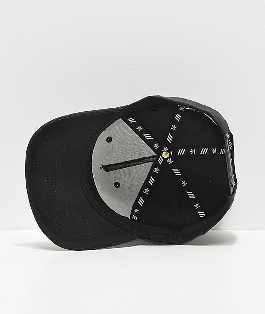 ... adidas Originals Dart Pre-Curve Black Snapback Hat 7c11d66a4